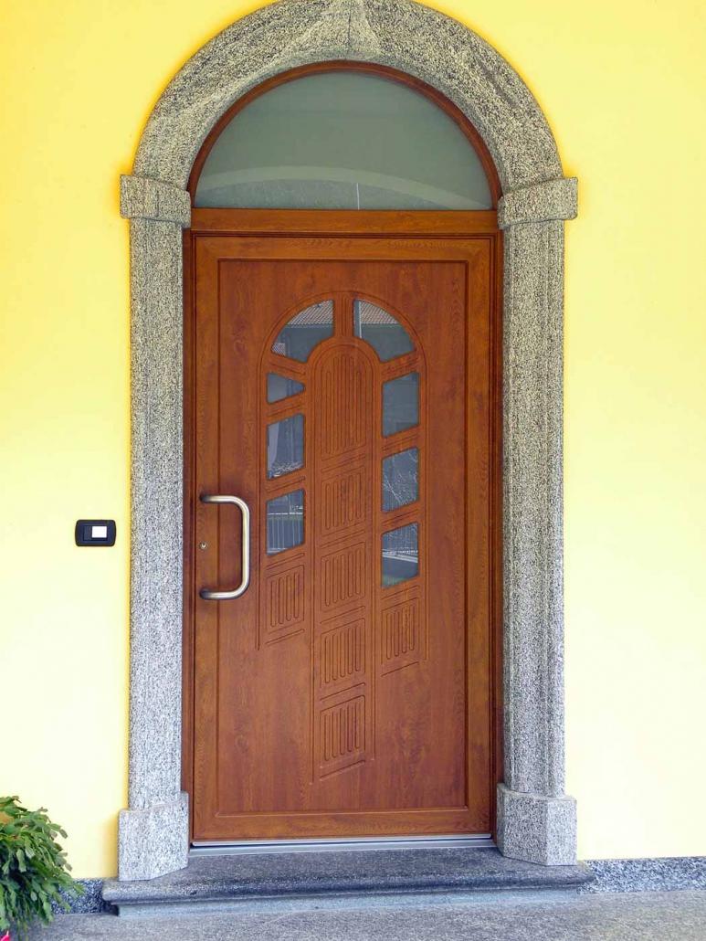 Arco Per Porta cornici in granito per esterni – rossi albino graniti